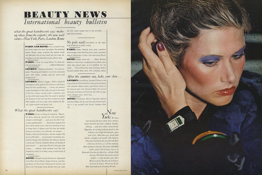 International Beauty Bulletin