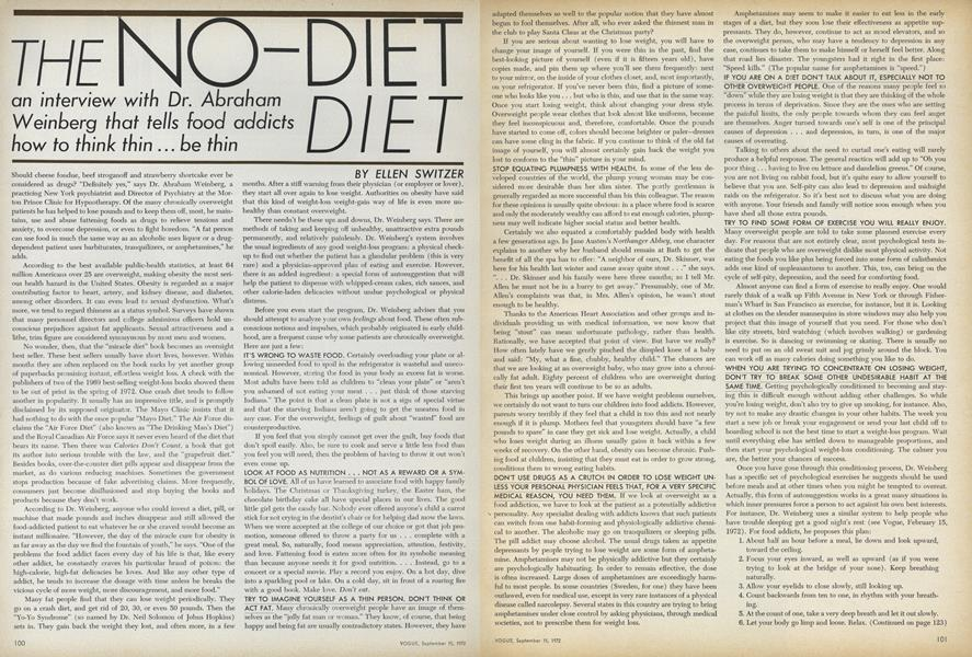 The No-Diet Diet