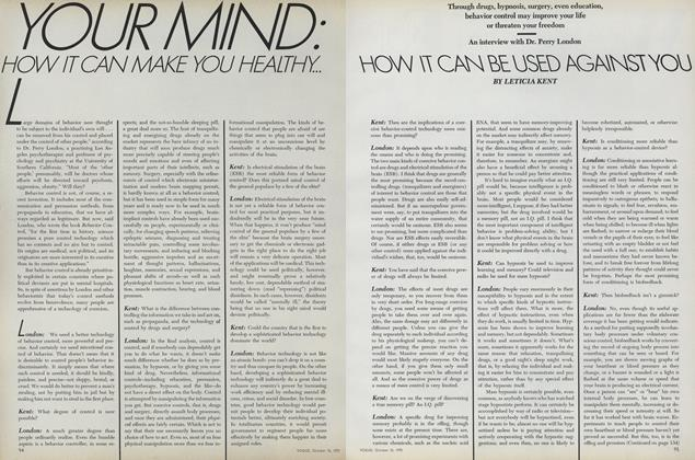 Your Mind: How It Can Make You Healthy...How It Can Be Used Against You