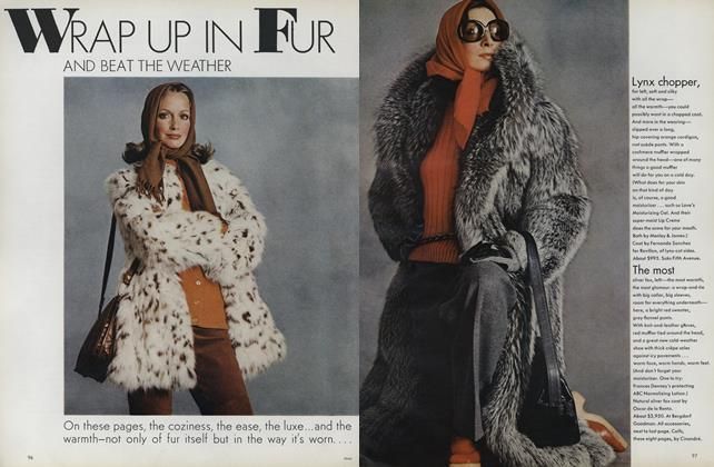 Wrap Up in Fur: And Beat the Weather