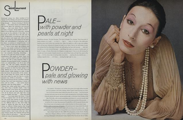 Pale—With Powder and Pearls at Night