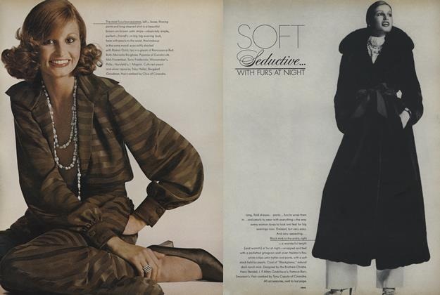 Soft Seductive...With Furs at Night