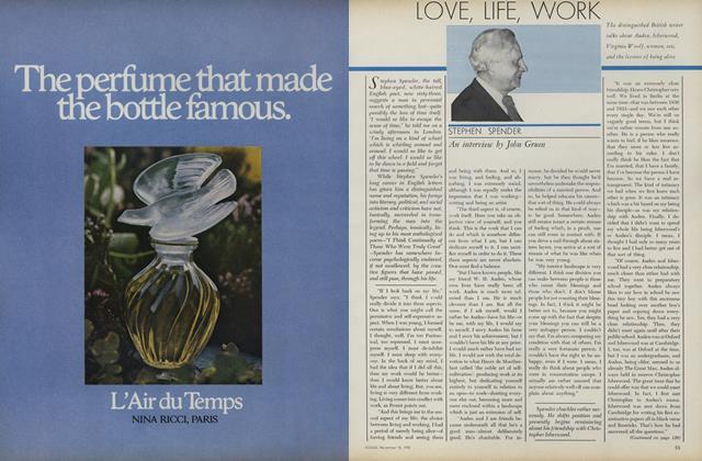 Love, Life, Work: Stephen Spender