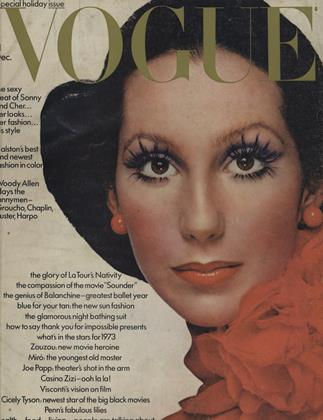 Cover for the December 1972 issue
