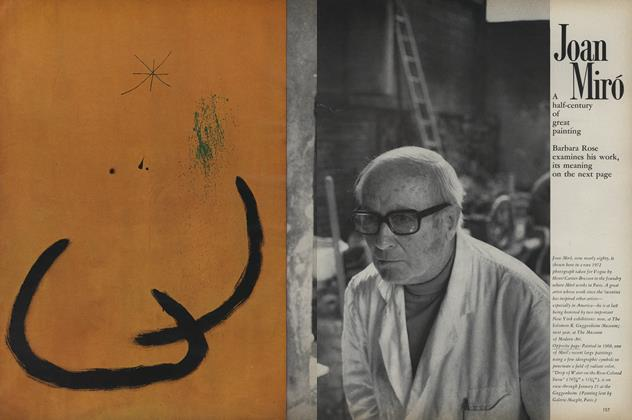 Joan Miró: A Half-Century of Great Painting