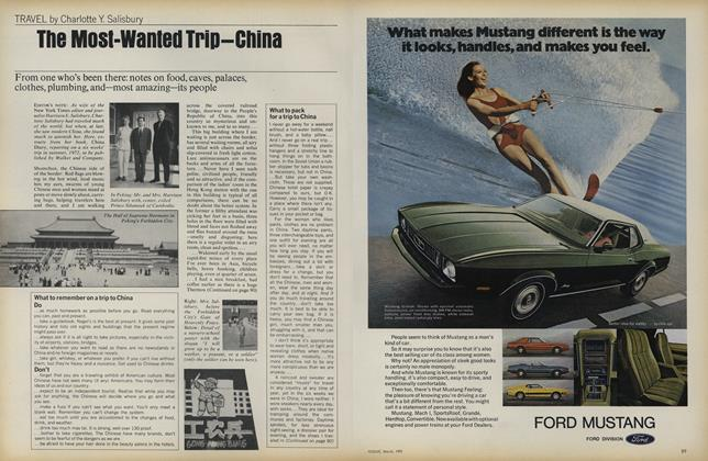 The Most-wanted Trip—China