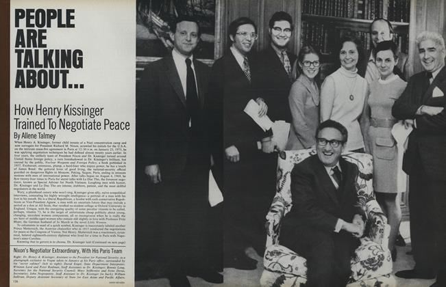 How Henry Kissinger Trained to Negotiate Peace