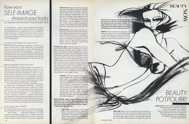 Article Preview: Beauty Potpourri, April 1973 | Vogue
