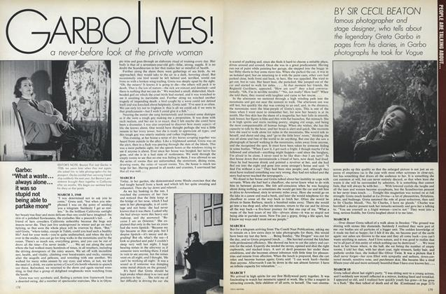 Article Preview: Garbo Lives!, April 1973 | Vogue