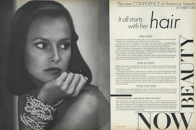 Article Preview: The New Confidence of American Beauty, April 1973 | Vogue