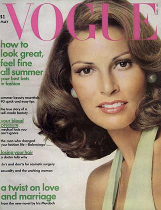 Cover for the May 1973 issue