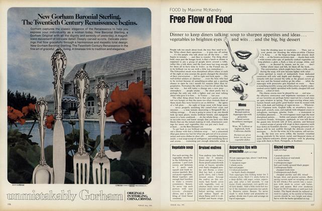 Free Flow of Food