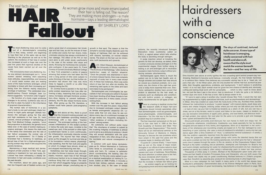 The Real Facts About Hair Fallout