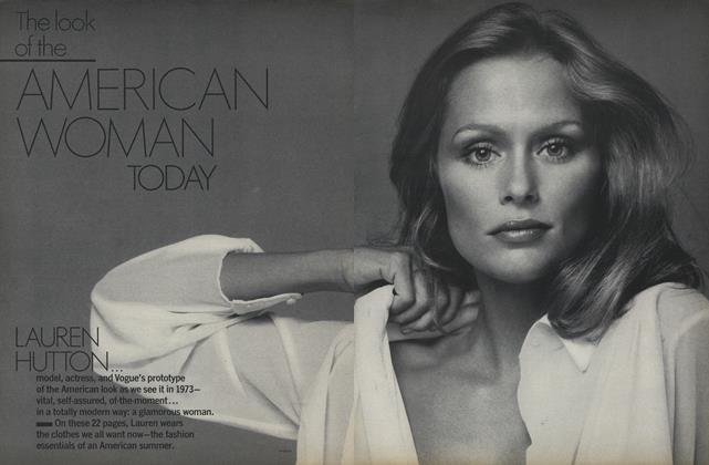 Lauren Hutton—The Look of the American Woman Today