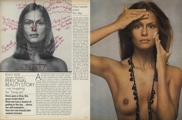 Lauren Hutton's Personal Beauty Story—Not Forgetting Her ''Hang-Ups''