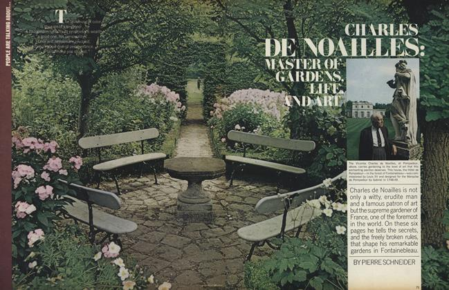 Charles de Noailles: Master of Gardens, Life, and Art