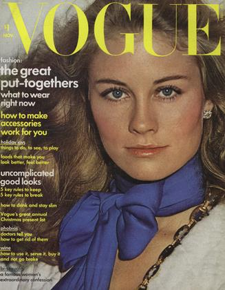 Cover for the November 1973 issue