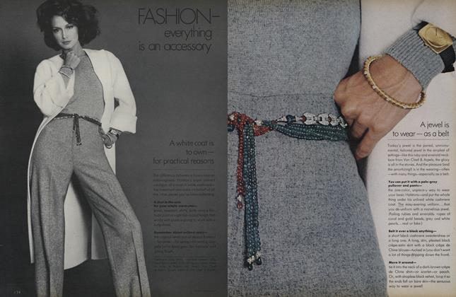 Fashion—Everything is an Accessory