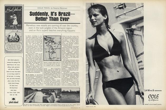 Suddenly, it's Brazil–Better than Ever
