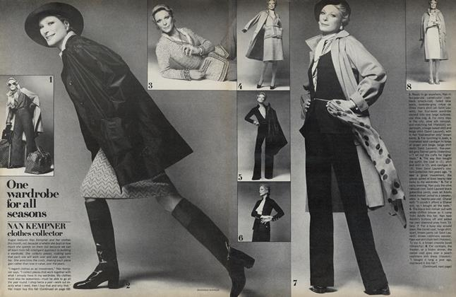 One Wardrobe For All Seasons: Nan Kempner, Clothes Collector
