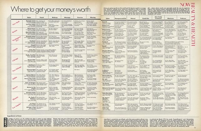 Where To Get Your Money's Worth