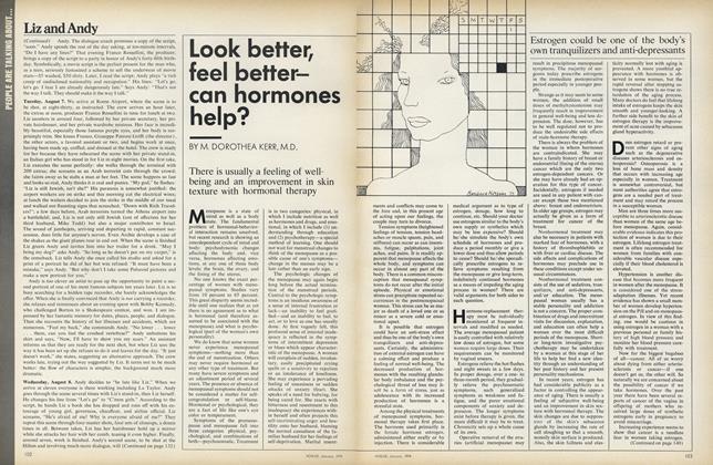 Look Better, Feel Better—Can Hormones Help?