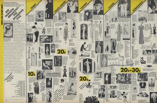 Big Fashion Breakout: The Inventive Five