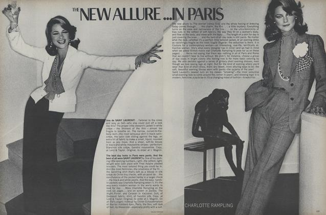 Article Preview: The New Allure...In Paris/The New Allure in Rome, March 1974 | Vogue