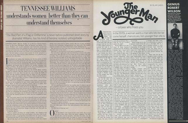 Article Preview: The Younger Man—A Lover Who Frees You, March 1974 | Vogue