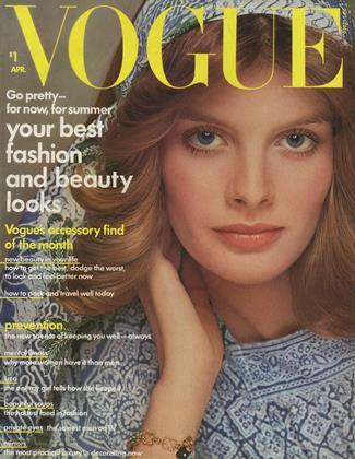 APRIL 1974 | Vogue
