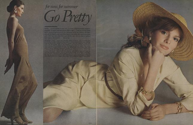 Article Preview: For Now, for Summer, April 1974 | Vogue
