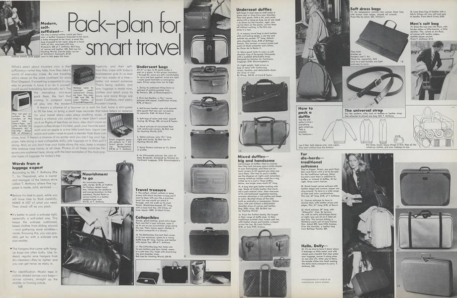 Pack-plan for Smart Travel