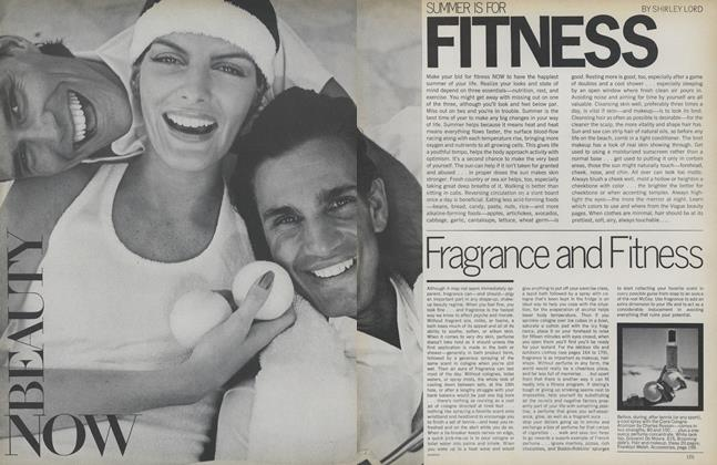 Summer Is for Fitness: Fragrance and Fitness