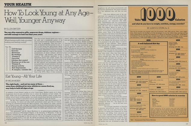 Article Preview: How to Look Young at Any Age—Well, Younger Anyway, May 1974 | Vogue
