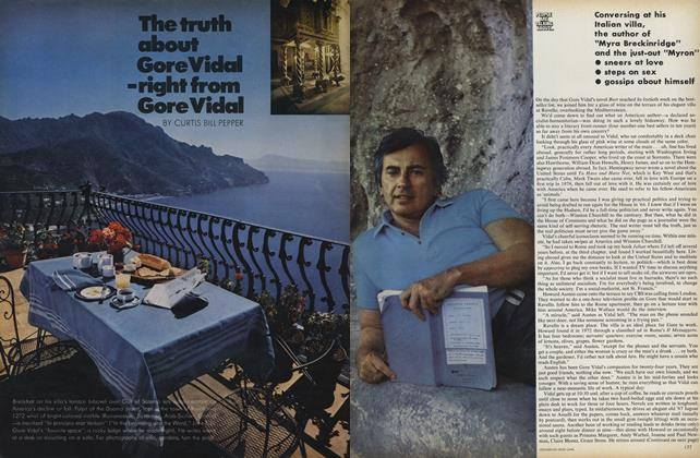 The Truth About Gore Vidal—Right from Gore Vidal