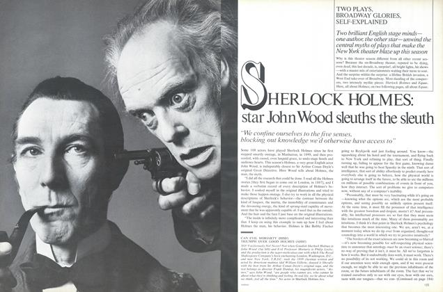 Sherlock Holmes: Star John Wood Sleuths the Sleuth