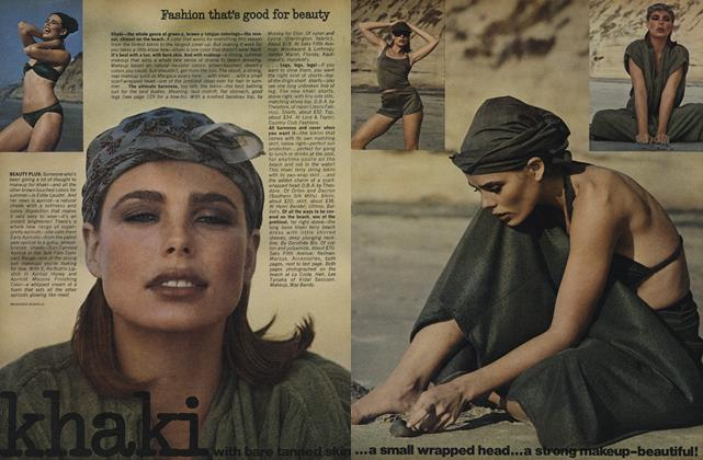 Article Preview: Fashion That's Good for Beauty, April 1975 | Vogue