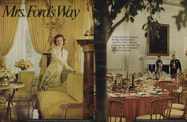 Article Preview: White House Party: Mrs. Ford's Way, April 1975 | Vogue