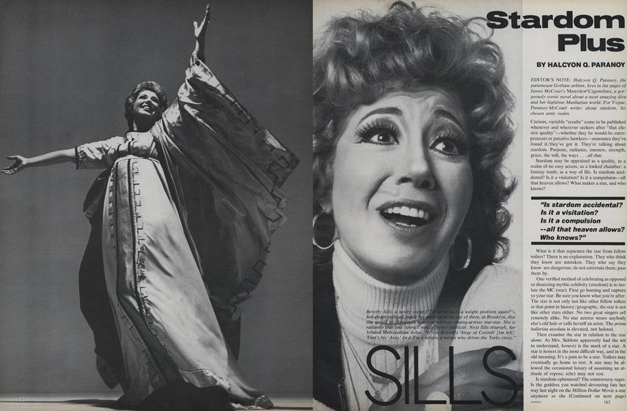 Stardom Plus: Beverly Sills, Natalia Makarova