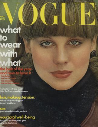AUGUST 1975 | Vogue