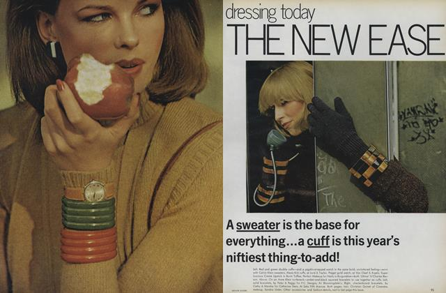 Article Preview: Dressing Today: The New Ease, August 1975 | Vogue