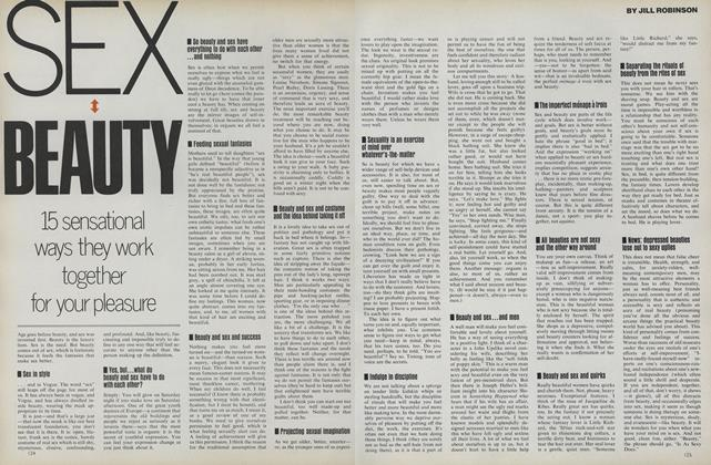 Article Preview: Sex Beauty: 15 Sensational Ways They Work Together for Your Pleasure, August 1975 | Vogue