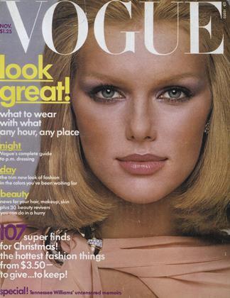 NOVEMBER 1975 | Vogue