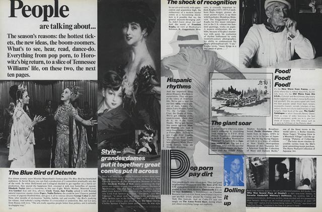 Article Preview: The Blue Bird of Detente/Hispanic Rhythms..., November 1975 | Vogue