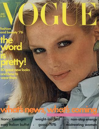 Cover for the January 1976 issue