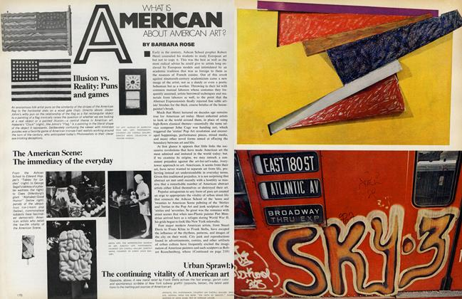 What Is American About American Art?