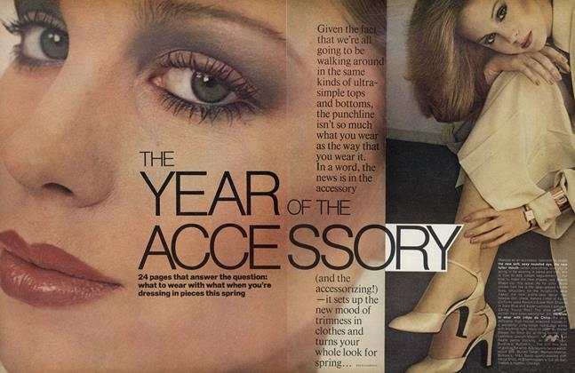 Article Preview: The Year of the Accessory, March 1976 | Vogue