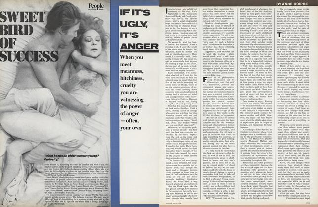 Article Preview: If It's Ugly, It's Anger, March 1976 | Vogue