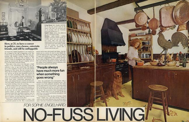 For Sophie Engelhard: No-Fuss Living