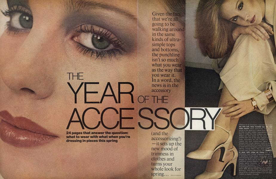 The Year of the Accessory